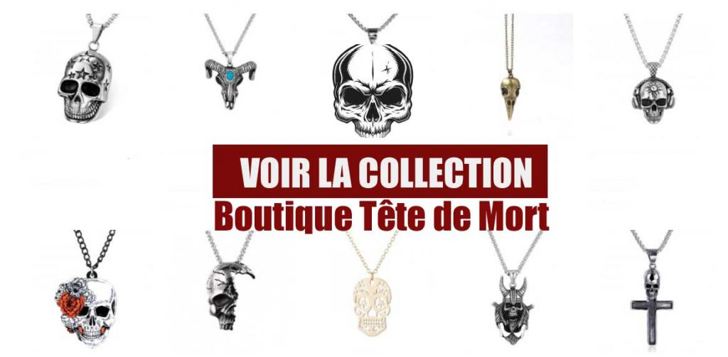 collection collier skull